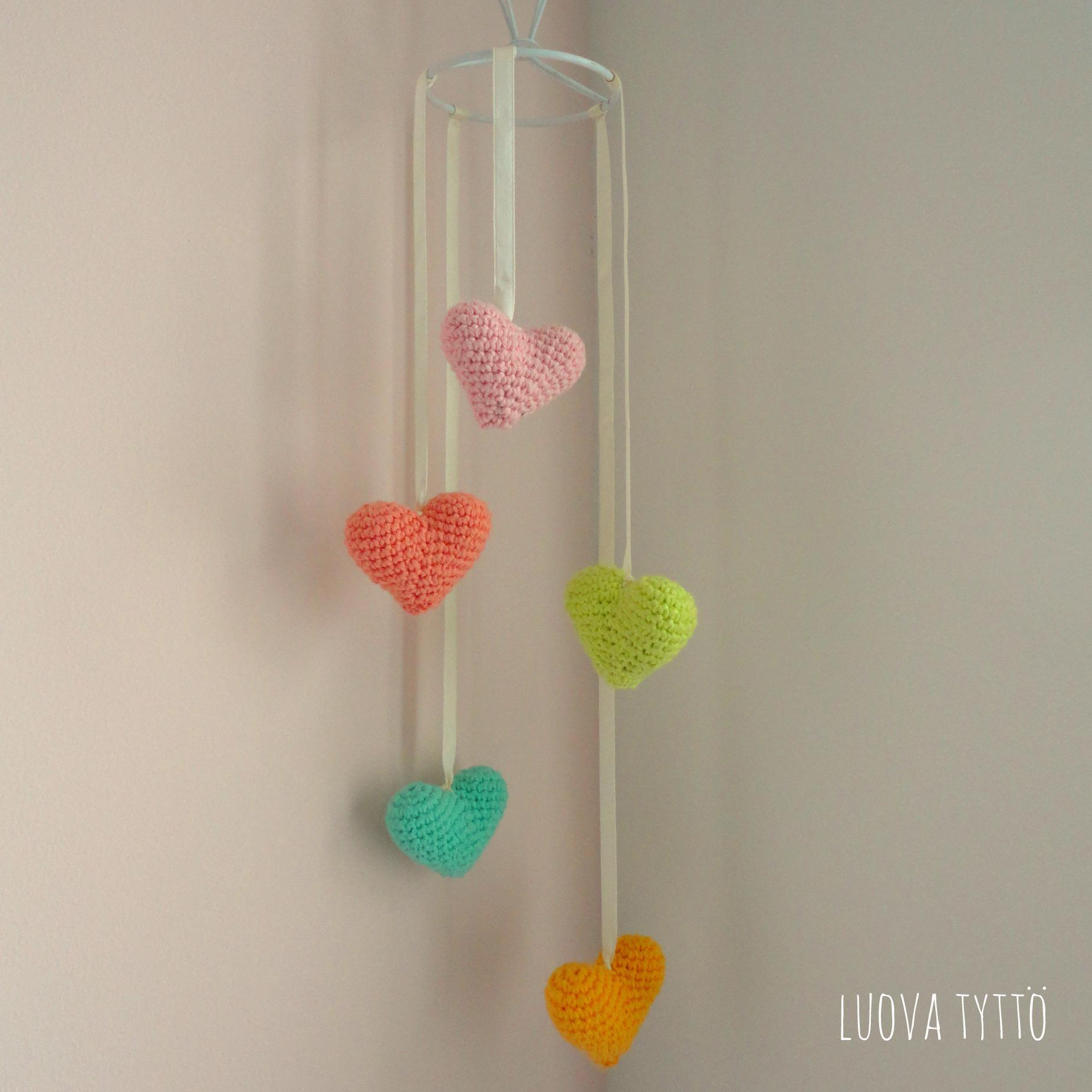 Iets Nieuws Valentijns hartjes mobiel   Luova tyttö #SN57