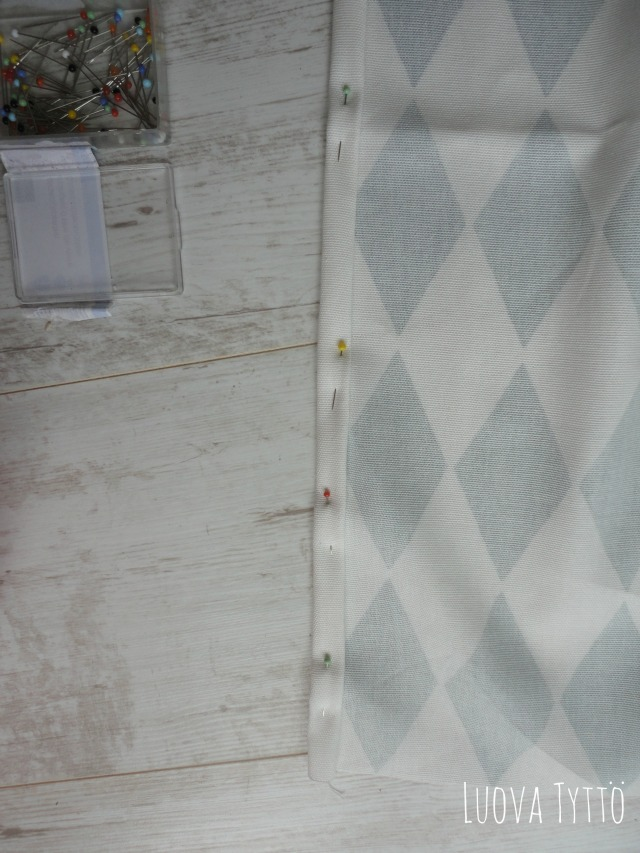 How to: Gordijnen naaien #2 | Luova tyttö